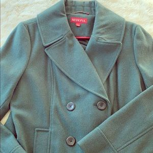 Merona Hunter Green Winter Trench Coat